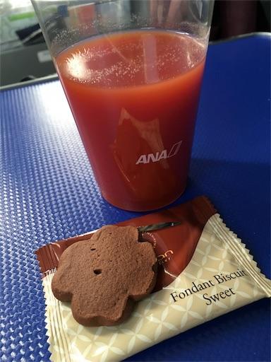 ANAプレミアムクラスRemamクッキー