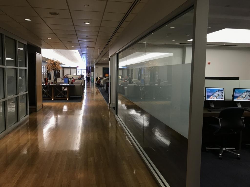 JFK空港 ANAビジネスクラス ラウンジ