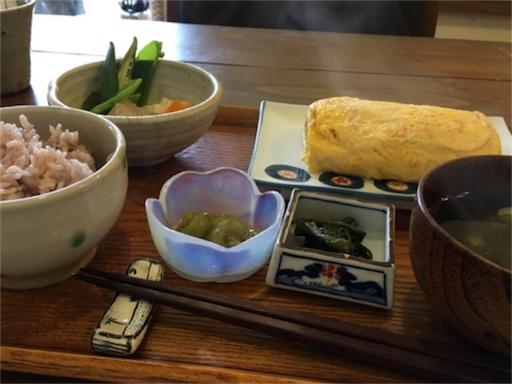 旬家ばんちゃんの朝食