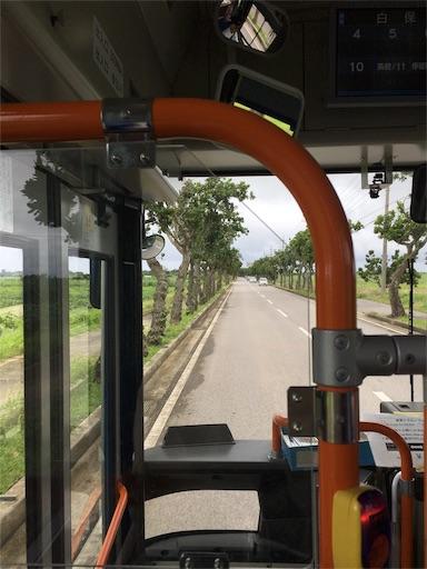 白保行きのバス
