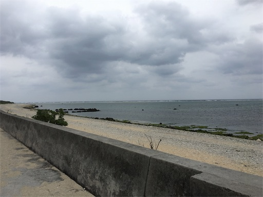 白保海岸の海辺