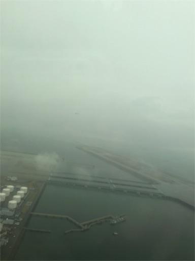 空からの羽田空港