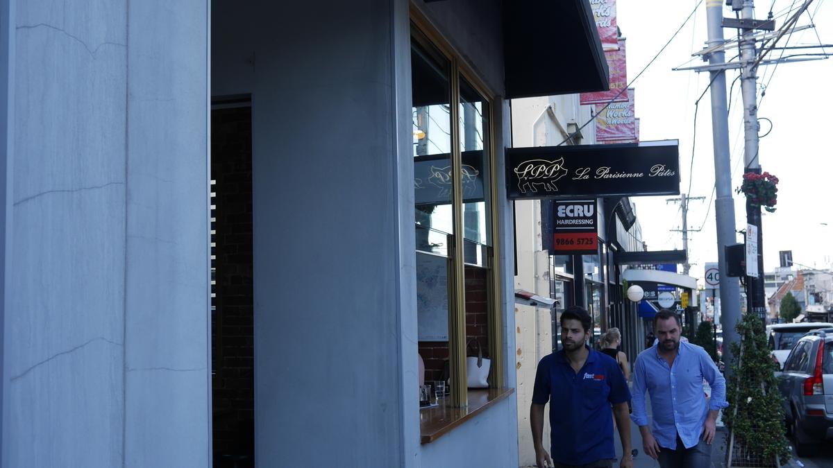 サウスヤラのカフェ