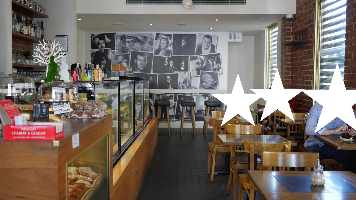 サウスヤラのカフェの店内