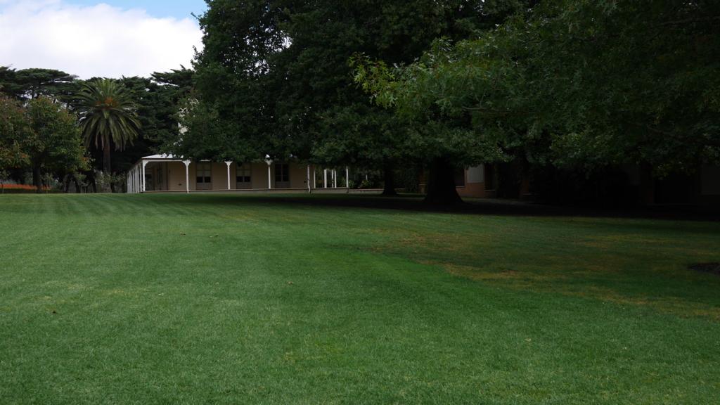 ドメーヌシャンドンの庭