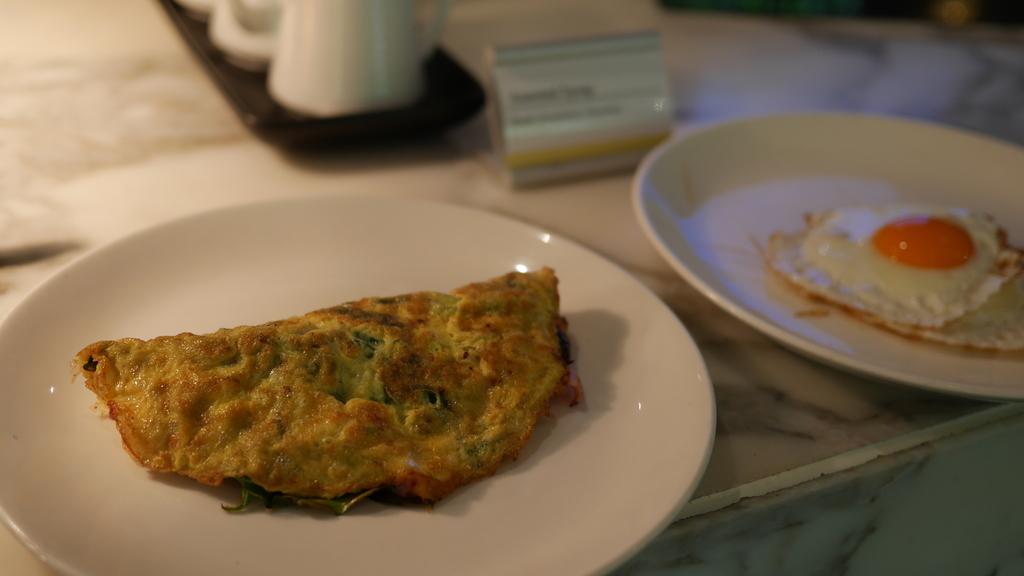 ウェスティンメルボルンの朝食 卵料理