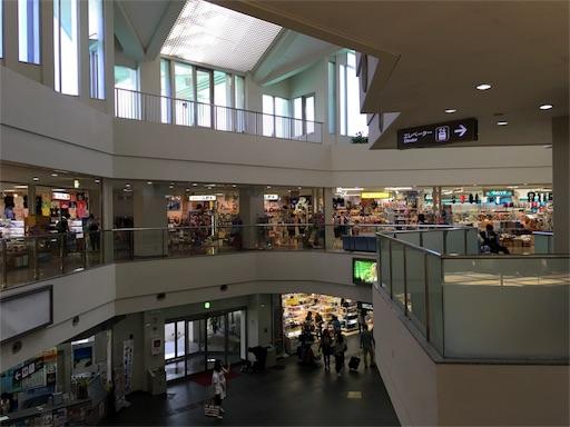 宮古空港のショップ