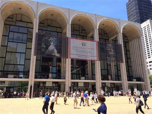 ニューヨークのメトロポリタン歌劇場
