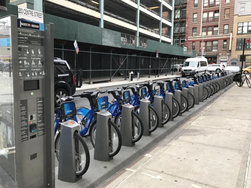ニューヨーク レンタサイクル