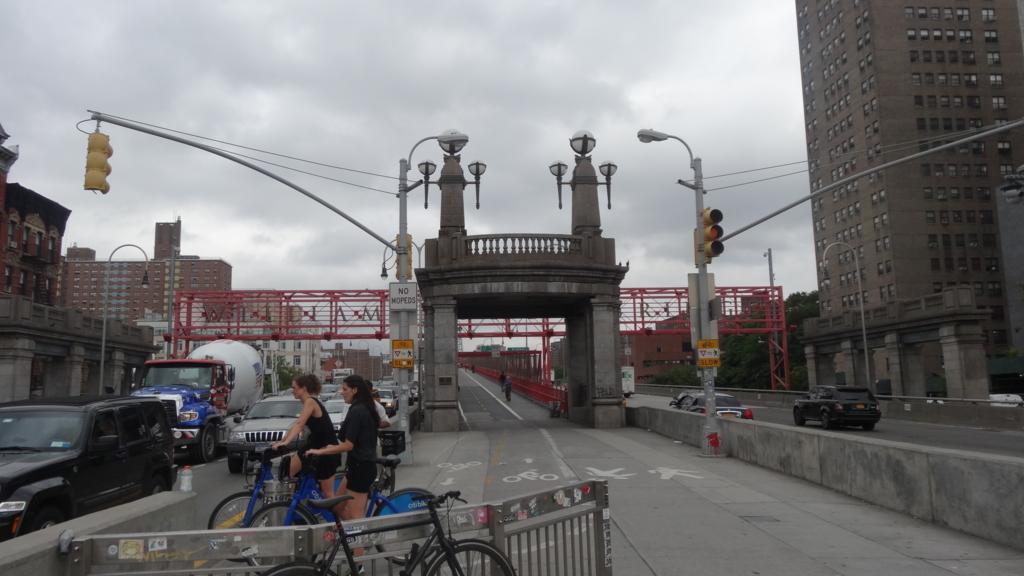 ウィリアムズバーグ橋 入口