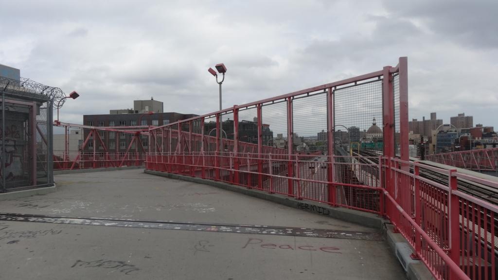 ウィリアムズバーグ橋 出口