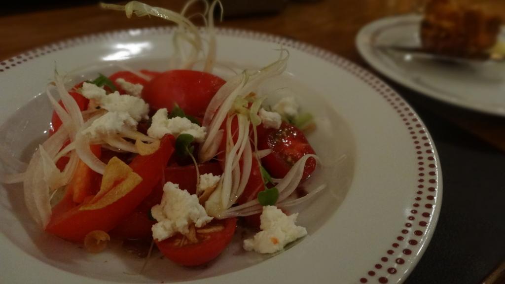 バーブールー サラダ