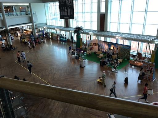 那覇空港のウェルカムホール