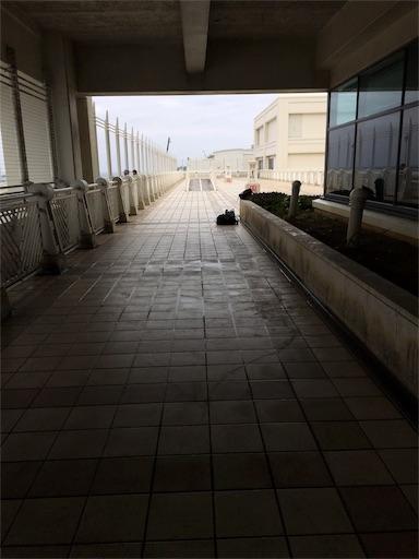 那覇空港の展望デッキ