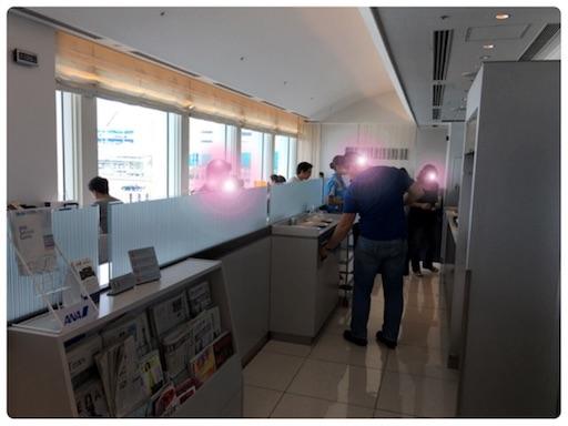 那覇空港のANAラウンジ