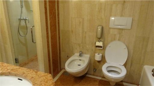 マリーナマンダリンのトイレ
