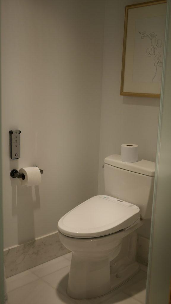 リッツカールトンワイキキのトイレ