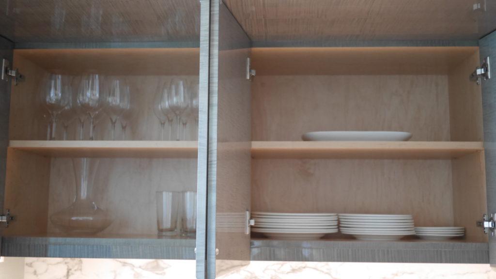 リッツカールトンワイキキ3BRのキッチン