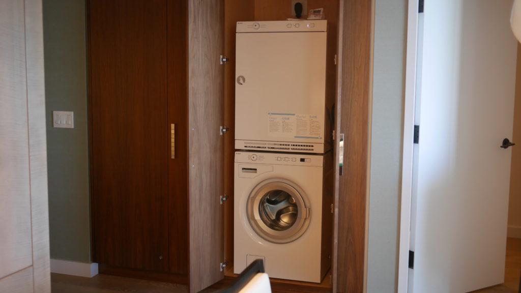 リッツカールトンワイキキ3BRの洗濯乾燥機