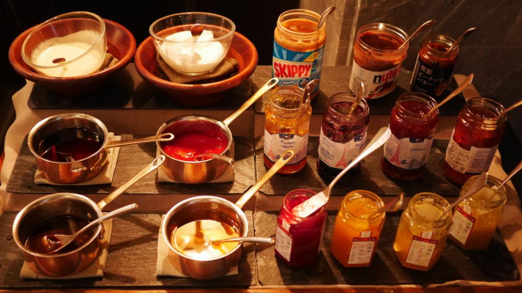 リッツカールトン沖縄の朝食ビュッフェ