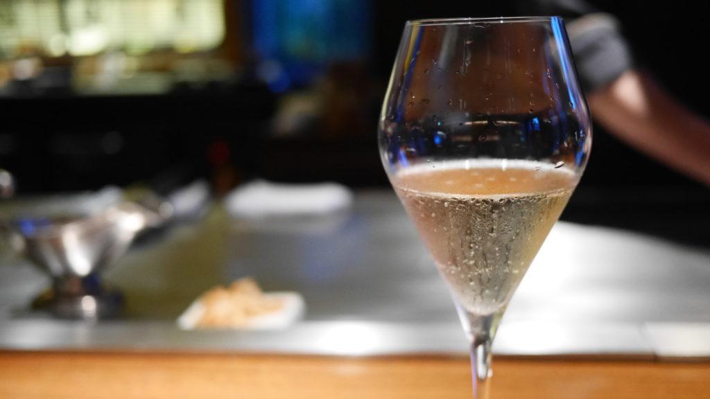 リッツカールトン沖縄 喜瀬 シャンパン