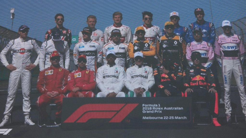 F1オーストラリアGP ドライバー撮影