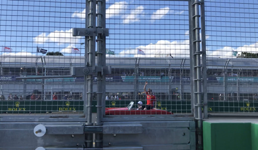 F1オーストラリアGP ドライバーズパレード