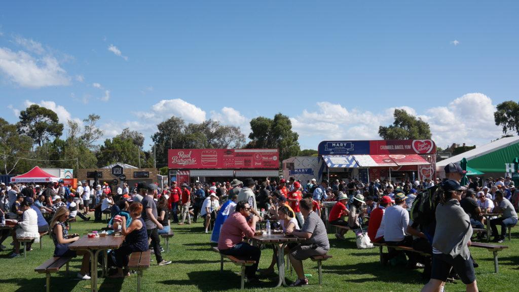 F1オーストラリアGP フードコーナー
