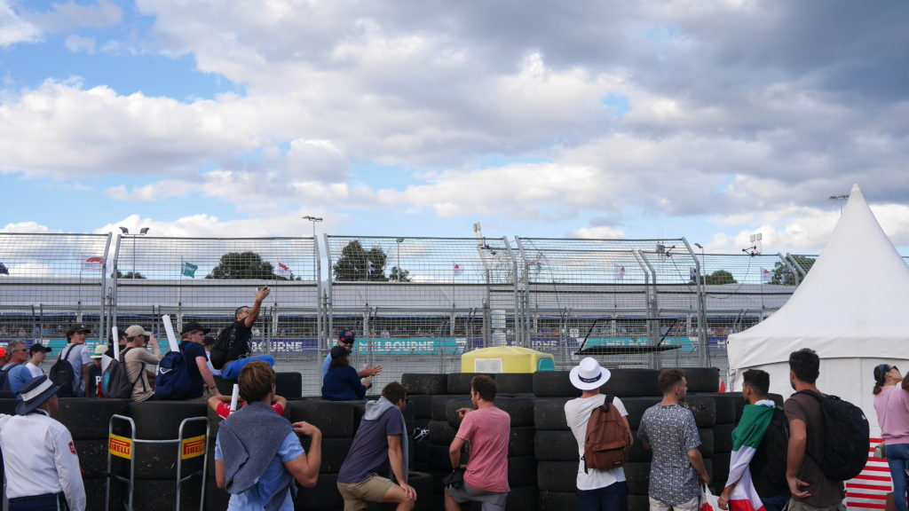 F1オーストラリアGP 自由席