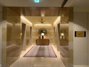 リッツカールトン東京 エレベーターホール1階
