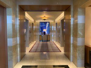 リッツカールトン東京 エレベーターホール45階
